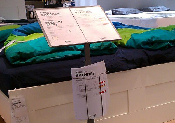 Ikea Bodenaufsteller