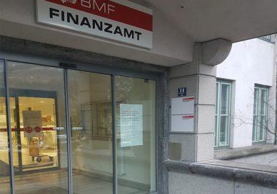 Beschilderung Finanzämter Österreich